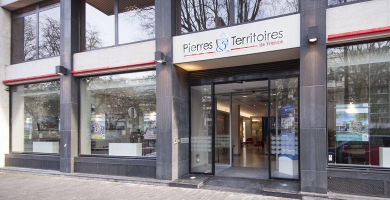 Façade espace Conseils à Lille