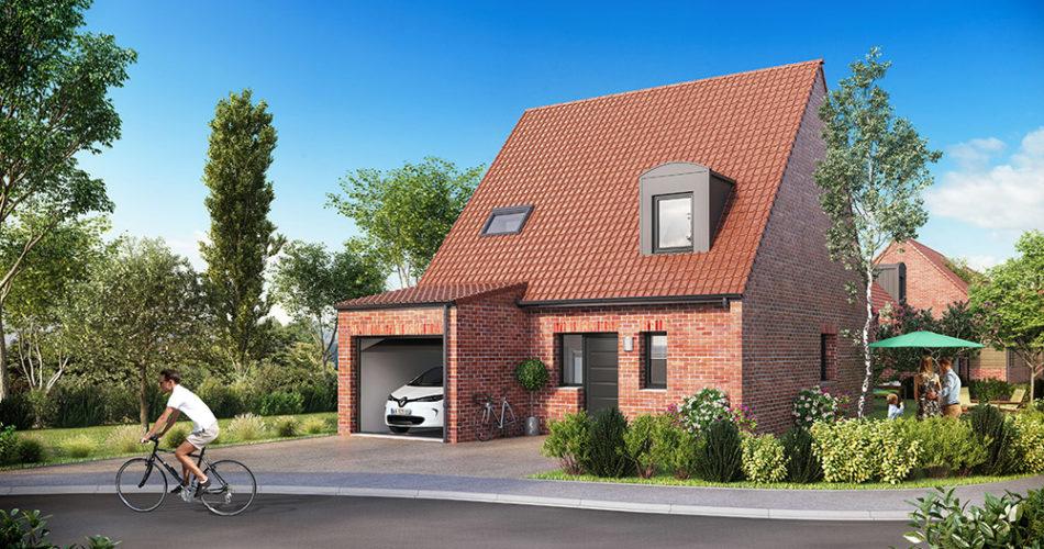Maison neuves à Sailly La Lys