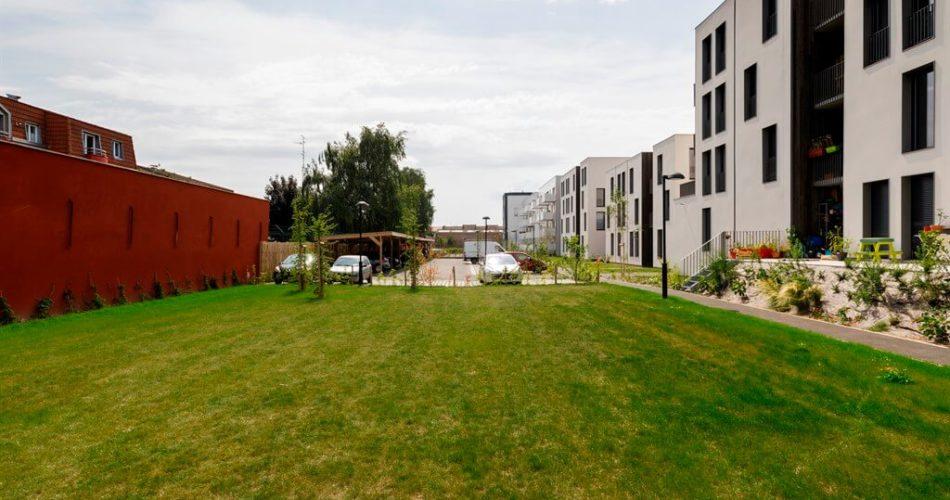 Visuel Lomme Apppartements Plan large avec jardin